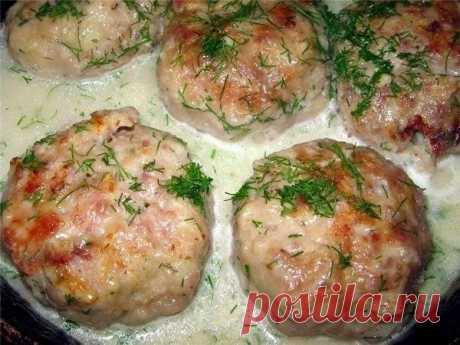 Как приготовить котлеты в соусе из плавленного сыра. - рецепт, ингредиенты и фотографии