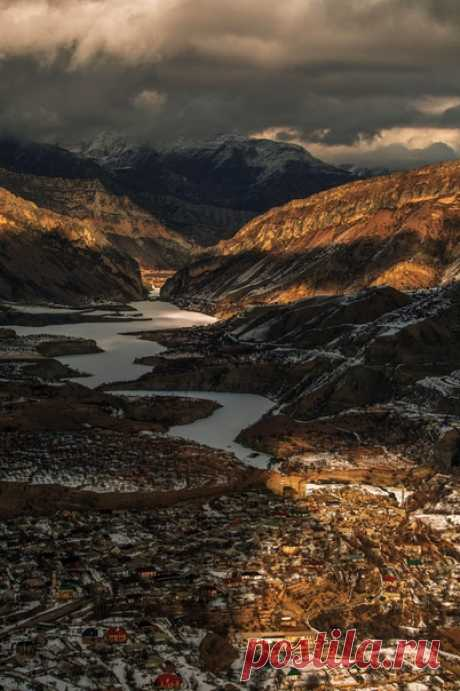 Село Хиндах, Дагестан. Автор фото – Сабир Умалатов: nat-geo.ru/community/user/223389