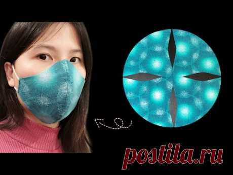 (легко) как пошагово сделать тканевую маску для лица
