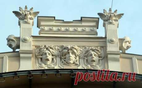 Архитектура и элементы декора стиля модерн