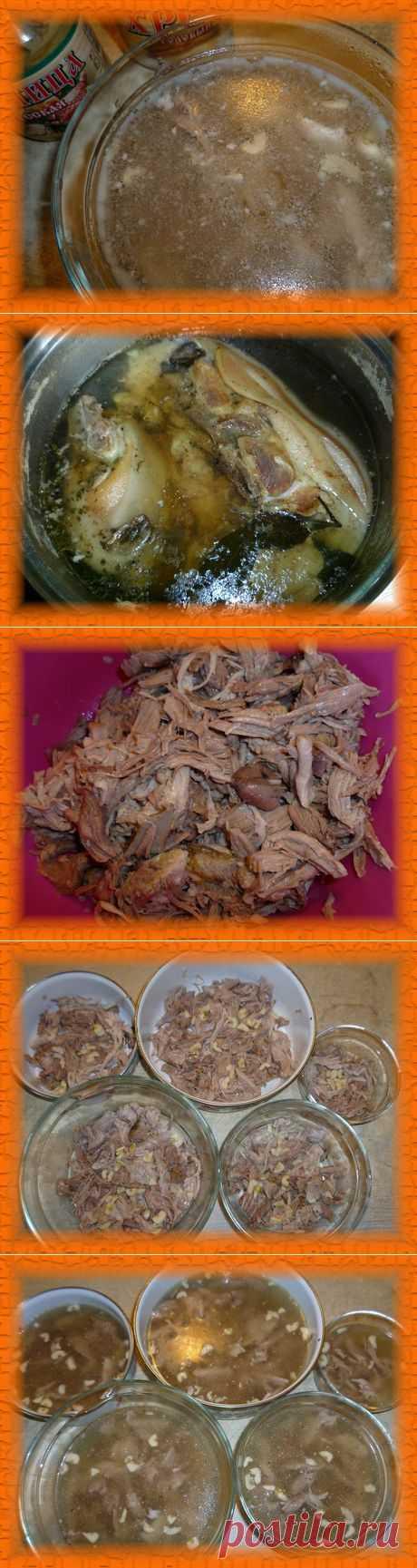 Холодец из свинины, рецепт | Снедание