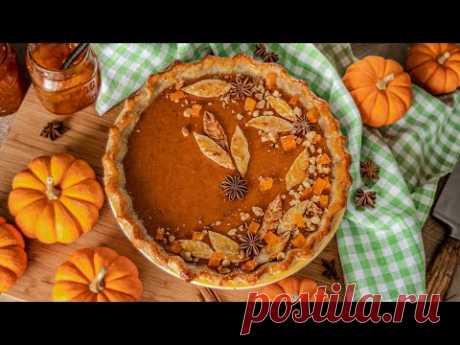 Американский ТЫКВЕННЫЙ ПИРОГ | пай / тарт из тыквы | Homemade Pumpkin Pie