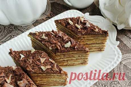 Торт Микадо- армянский классический рецепт