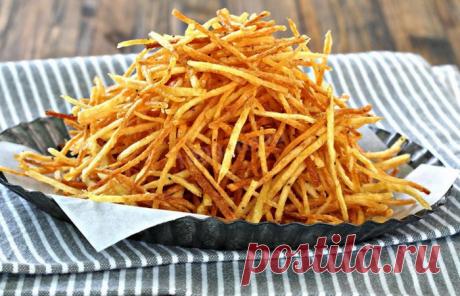 Рецепт картошки «пай», которая вкуснее картошки «фри»