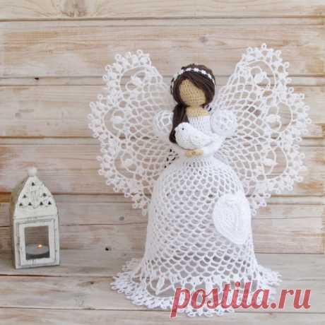 "The most beautiful openwork angels a hook - Knitting - Articles about needlework - Articles. - ""Магия Творчества""-информационный portal."
