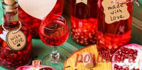 Гранатовая настойка и гранатовый ликер на водке | Prime Drink алкогольные напитки | Яндекс Дзен