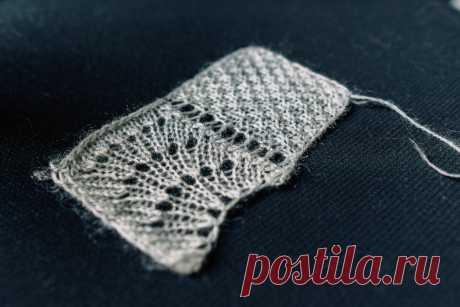 Схема вязания и описание популярного мохерового свитера с ажуром | Вязунчик — вяжем вместе | Яндекс Дзен