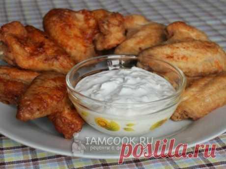Куриные крылышки «Баффало» — рецепт с фото