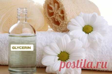 Использование глицерина в уборке и не только