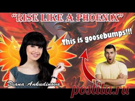 "🇷🇺 ""Rise like a Phoenix""   Diana Ankudinova Solo concert in Togliatti   REACTIONS   TrendsTV"