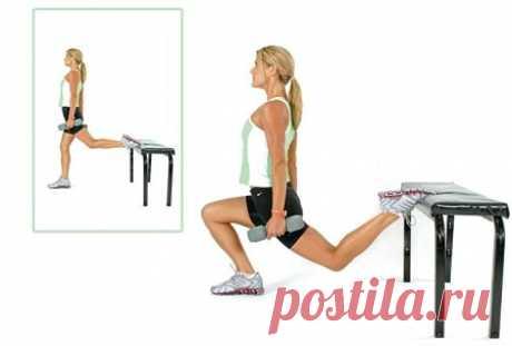 Каждая мышца работает, благодаря всего 3 упражнениям | Женские заметки