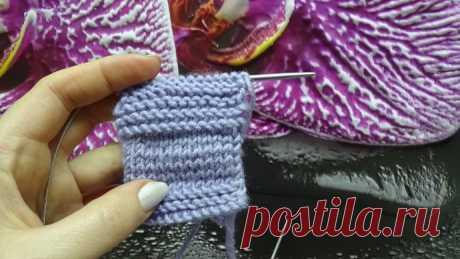БЕСПОВОРОТНОЕ вязание. Находка для некоторых техник вязания. Видео МК