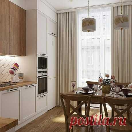 Оцените интерьер кухни