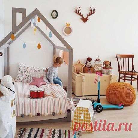~ Современный дизайн детской комнаты. 45 фото идей.