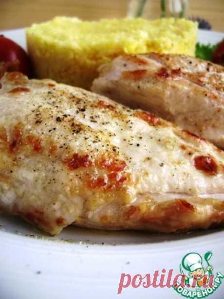 Нежная куриная грудка, томленная в масле - кулинарный рецепт
