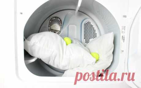 Как правильно нужно стирать подушки