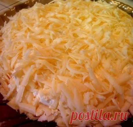 Как приготовить салат рафаэло - рецепт, ингридиенты и фотографии
