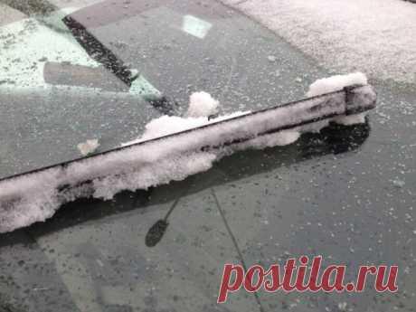Дешевый проверенный способ, чтобы дворники не покрывались льдом и отлично очищали стекло в любую погоду | Блог автоперекупщика | Яндекс Дзен