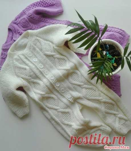 Overalls for the kid - Knitting - the Country of Mothers