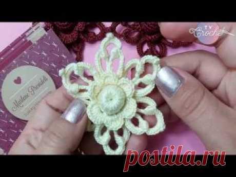 Olá Pessoal !!! Uma inspiradora aula para qualquer amante do crochê irlandês , tanto iniciante como expert. Linda ideia para compor peças no Crochê Irlandês ...