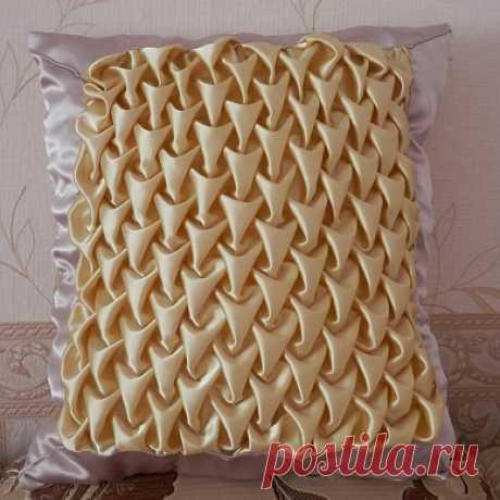 Мастер класс подушки с буфами чешуя — Hostelrainbow.ru