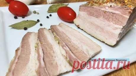 ВАРЁНОЕ САЛО В СОБСТВЕННОМ СОКУ вкуснее любой колбасы. Деликатес для Гурманов. Простой рецепт.