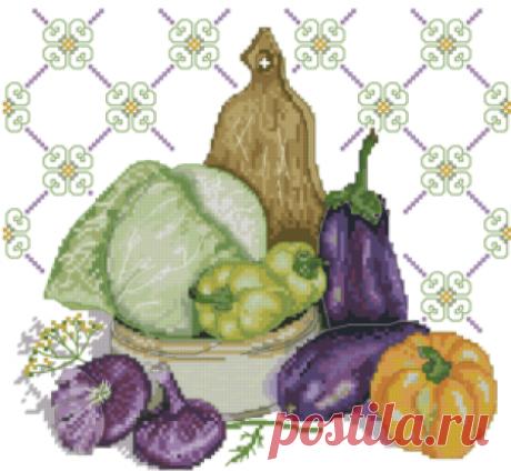 Овощи, фрукты и ягоды   МореСхем - Part 10