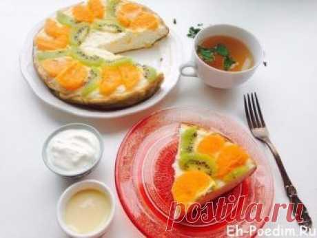 Творожная запеканка фруктовая в мультиварке Как хорошо собраться зимним вечером с семьей за чашкой чая, и попробовать вкусную творожную запеканку.