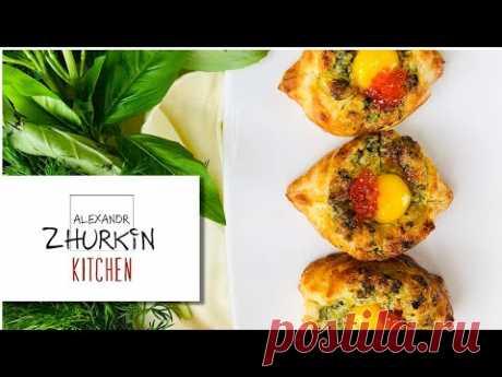 Мини хачапури из слоеного теста/Хачапури самый простой и вкусный рецепт!