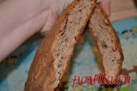 Простой рецепт ржаного хлеба на кефире без закваски и дрожжей   Меняю себя. Вкусное пп   Яндекс Дзен