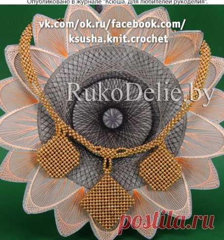 Бисерное колье с оригинальными подвесками :: Колье и ожерелья :: Украшения :: Бисероплетение/Necklaces made of beads :: RukoDelie.by