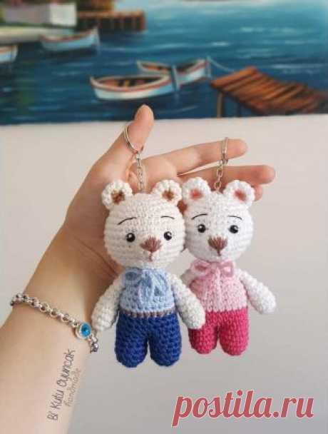 Маленький мишка крючком: описание | AmiguRoom