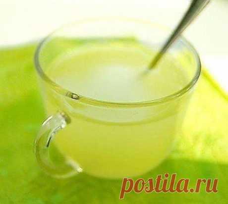 Имбирный лимонад с лимоном..