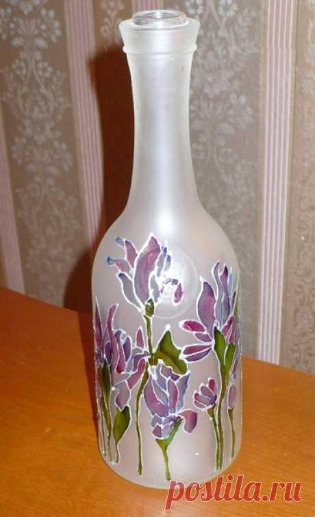 Las ideas de la decoración de las botellas
