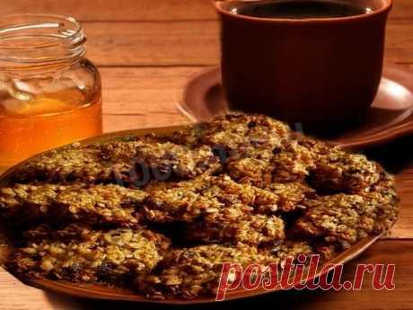 Овсяное печенье на кефире диетическое рецепт с фото - 1000.menu