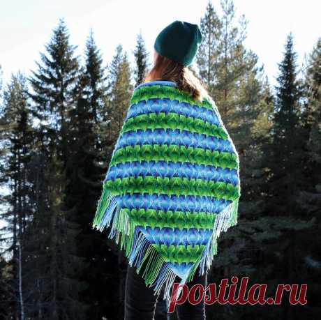 """The """"Nomad by Fate"""" triangle wrap – Free Pattern inside. – Martin Up North"""
