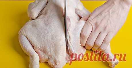 Как разделать тушку курицы: пошаговая фото-инструкция.