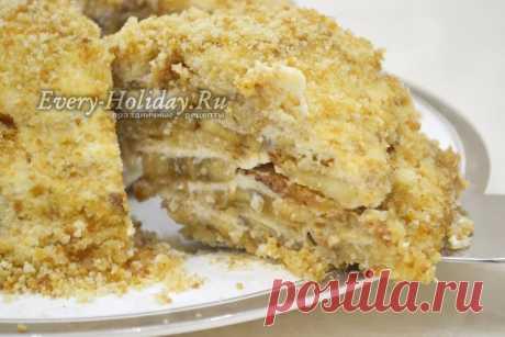 Торт за 10 минут без выпечки всего из 3 х ингредиентов