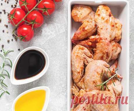Вкусные маринады для куриных крылышек, BBQ и соево-медовый.
