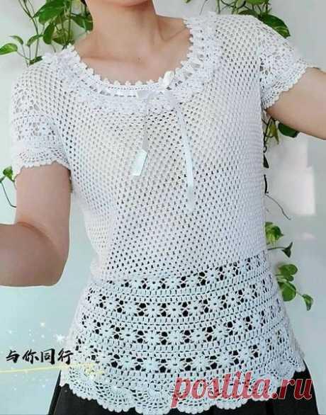 White blouse hook