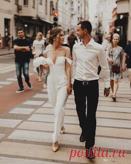 ⭐ Брючный костюм невесты: ТОП-10 идей ⭐