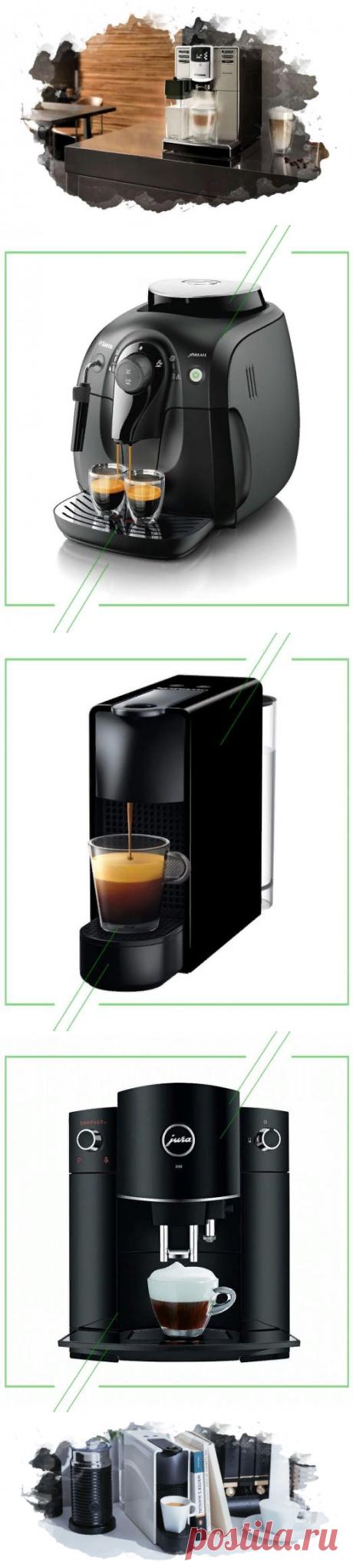 ТОП-7 лучших кофемашин для дома: виды, отзывы