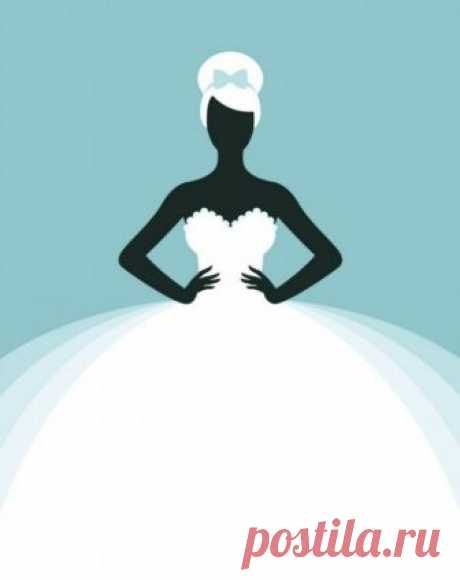 Невеста. Картинки для творчества