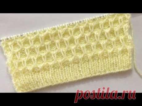 New Knitting Stitch Pattern For Sweater