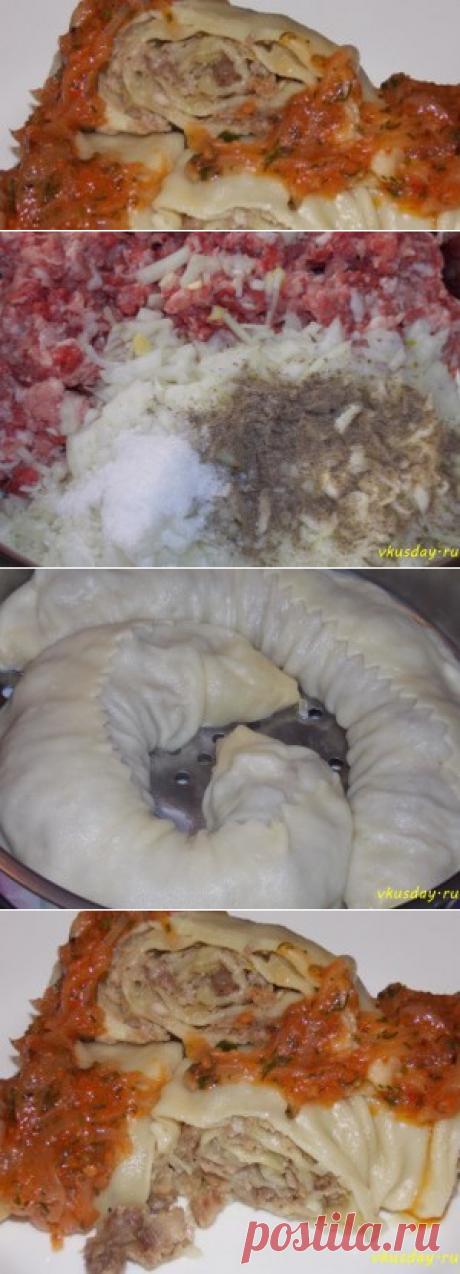 Паровой рулет с мясом | Вкусный день