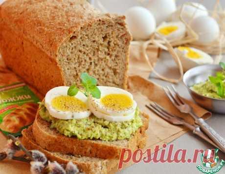 Хлеб пшенично-овсяный с сухими травами – кулинарный рецепт