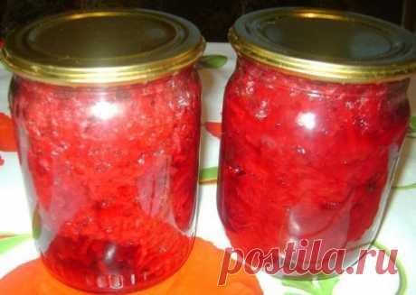 Борщевая заправка  Ингредиенты:  свекла 3 кг  морковь 1кг....