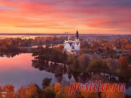Храм Петра и Павла, г. Сестрорецк. Фото: Сергей Дегтярёв.