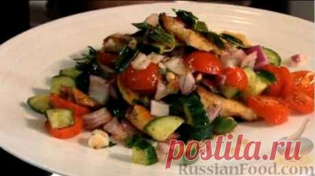 """Рецепт: Восточный салат """"Фаттуш"""""""