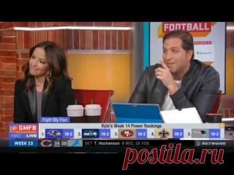 Peter Schrager [IMPRESSED] Kyle's Week 14 Power Rankings: #1.Ravens #2.Patriots #3.49ers | GMFB